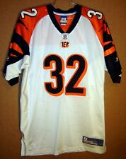 CINCINNATI BENGALS RUDI JOHNSON White #32 AUTHENTIC NFL Football Size 52 JERSEY