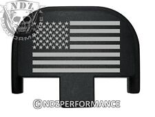 Rear Slide Plate for Smith Wesson S&W SD9 SD40 VE 9mm 40 BK US Flag