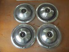 """1968 68 1969 69 Ford LTD Hubcap Rim Wheel Cover Hub Cap 15"""" OEM USED 645 SET"""