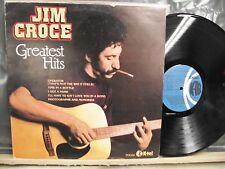 Jim Croce~Greatest Hits~Edigsa K-Tel18L0223 Spain Lp 1981 VG+