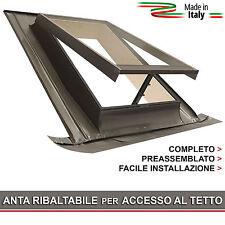 Lucernario / Finestra per tetto - BASIC VASISTAS 48x72 (Apertura tipo Velux)