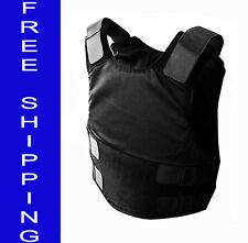 SkarrArmor® Deep Concealable /w Kevlar Bulletproof Vest Body Armor NIJ IIIA L
