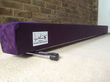 finest quality gymnastics gym balance beam purple 8FT long brand new reduced