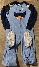 Carter's Monster One Piece Fleece Pajamas Size 12