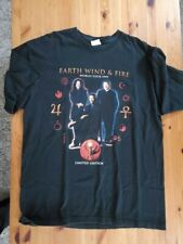 rare 1999 concert tee XL - Front: Earth Wind & Fire, Back: Barry White