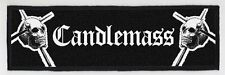 CANDLEMASS SUPERSTRIP PATCH / SPEED-THRASH-BLACK-DEATH METAL