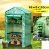 Greenhouse Cover Walk In Grow Garden Yard Plant Storage Frame Shed PVC Outdoor