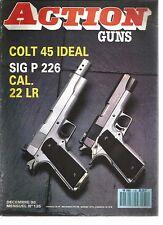 """ACTION  GUNS N°135 COLT 45 / DESERT EAGLE 357/44 BD / """"FORT-STOCKTON"""" /SIG BAUER"""