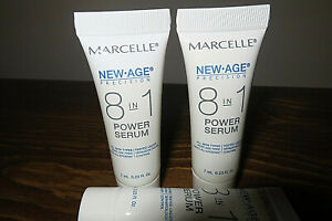 Marcelle Cream NEW-AGE POWER SERUM 8-in-1 All Skin Types Enhancer .24 oz NATURAL