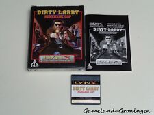 Atari Lynx Game: Dirty Larry Renegade Cop (Complete)