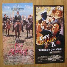 CITY SLICKERS 1 & 2 Australian daybill movie posters Billy Crystal Jack Palance