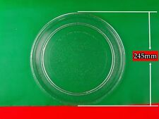 Samsung Microwave Oven Glass Spare Parts Turntable Plate Platter 245mm  (W9) NEW
