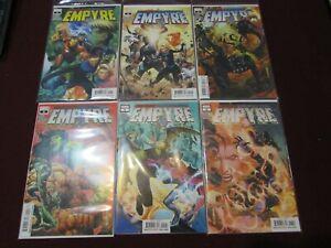 Empyre Comic Lot of 24 NM+ 9.4 1st Print!!!! *** Complete Set + Variants****