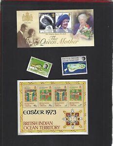 British Indian Ocean Territory sc#247 (2002) Souvenir Sheet MNH + Nice lot