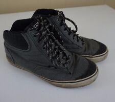 Vans California Men's Size 9 Grey Gray High Top Tops Classic Vulc Sneaker
