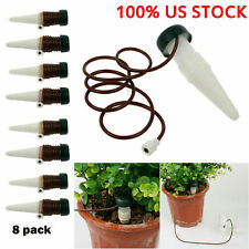8Pcs Watering Spikes Device Automatic Plants Self Water Drip Irrigation System