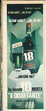 ISOLABELLA 18 MENTA IL DISSETANTE  - ADVERTISING