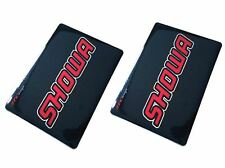 Etiqueta engomada de carbono 4MX Horquilla Calcomanías Showa gráficos Fits Honda SLR650 X y 99-01