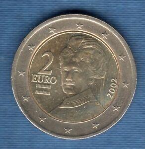 Autriche 2002 2 Euro SUP SPL Pièce neuve de rouleau - Austria