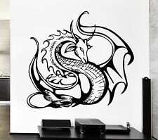 Wall Decal Cool Decor Dragon Movie Fantasy Monster Cool Decor (z2691)