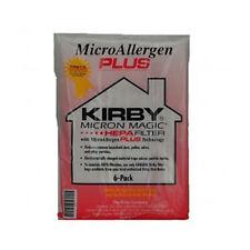 Lot de 18 Genuine Kirby Micron Magic micro Allergène Plus Aspirateur Hepa Filtre Sac