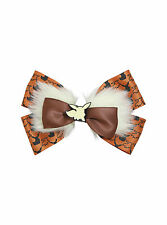 Pokemon GO EEVEE Furry Fuzzy Cosplay Cheer Hair Bow Pin Clip Dress-Up Nintendo