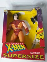 "Wolverine 15"" fully poseable Figure Uncanny X-Men Supersize Series Toy Biz 1991"