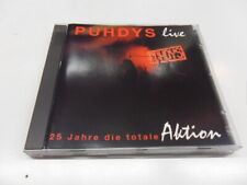 CD  Puhdys  – 25 Jahre Die Totale Aktion (Live)