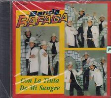 Banda Rafaga Con La Tinta De Mi Sangre CD New Nuevo Sealed