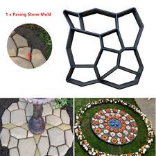 Black Plastic Paving Stone Mold Wide Usage Tool For A Custom Walkway Path Patio