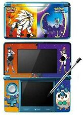 Pokemon Sun and Moon Game Skin for Nintendo 3DS Console