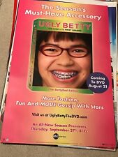 UGLY BETTY FIRST SEASON POSTER 26 X 40 B3 NEW