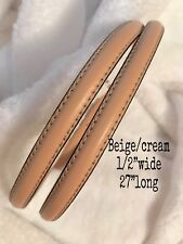 Replacement Straps Beige/cream/ivory-can use to michael kors purse/handbag