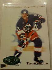 1992-92 Parkhurst Update Stanley Cup Playoffs Teemu Selanne Card 500 Cool Set