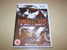Resident Evil The Umbrella Chronicles pour WII ** NOUVEAU & Sealed **.