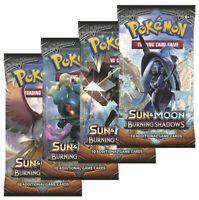 Pokemon TCG: 4x Burning Shadows Booster Packs | All 4 Artworks I New & Sealed