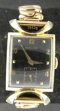 Vintage mans Hamilton 14K Robert, 19j, Grade 754, original & a beauty, serviced.