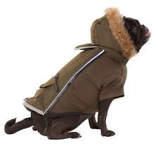 NEW Top Paw Light Up Winter Dog Coat LED Reflective Green Medium M NWT FREE SHIP