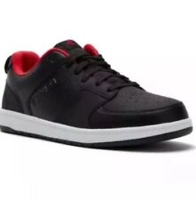 Black with Red Lining AND1 Providence Low Athletic Sneaker Shoes Men's Size