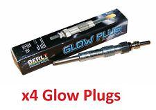 Berlt 4X Glow Plugs for Vauxhall Astra Vectra 1.9 CDTI G010 OE 46754154