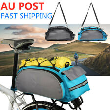 Fahrradtasche Multifunktional Gepäckträger Packtaschen Satteltasche Fahrrad 13L