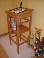 Wunderschönes Stehpult mit Schreibklappe und Ablagefach in Buche