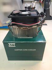 Intel P4 ATT Cooper Core 478 CPU Fan New Up to 3.06GHz