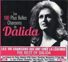 LES 100 PLUS BELLES CHANSONS DE DALIDA - BOX 5 CD (NUOVO SIGILLATO)