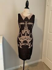 Anna Sui Sleeveless Kintted Midi Dress Size Sp