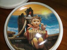 "M I Hummel ""Let'S Sing"" Collector Plate - Danbury Mint Yr 1993"