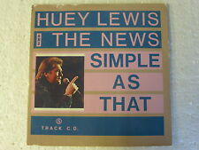 Huey Lewis And The News: Simple As That (Deleted 5 trk CD Single in Card Slv)