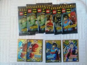 Lego Batman 6 Booster + 4 lim. Karten