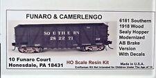 Funaro F&C  HO Southern 1918 Wood Sealy Hopper AB Brake kit  6181