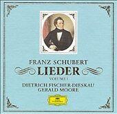 DG 9-CD box set. Schubert: Lieder, Vol.1. D. Fischer-Dieskau, Gerald Moore,piano